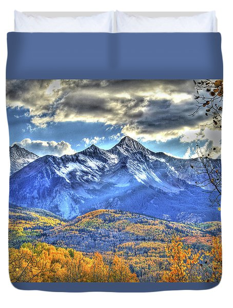 Mount Wilson Duvet Cover