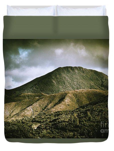 Mount Zeehan Tasmania Duvet Cover