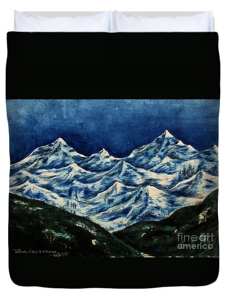 Mountain-2 Duvet Cover