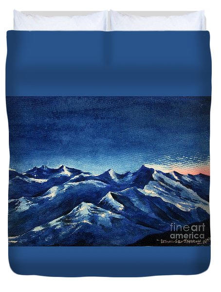 Mountain-4 Duvet Cover