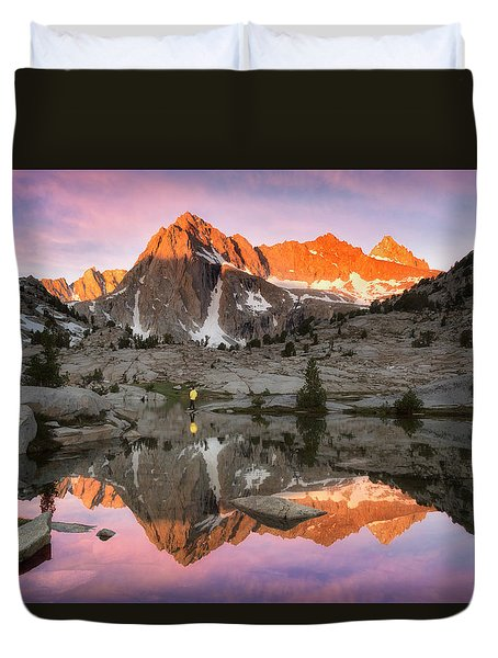 Mountain Air  Duvet Cover
