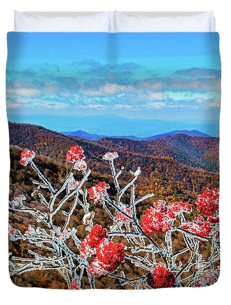 Mountain Ashe Duvet Cover