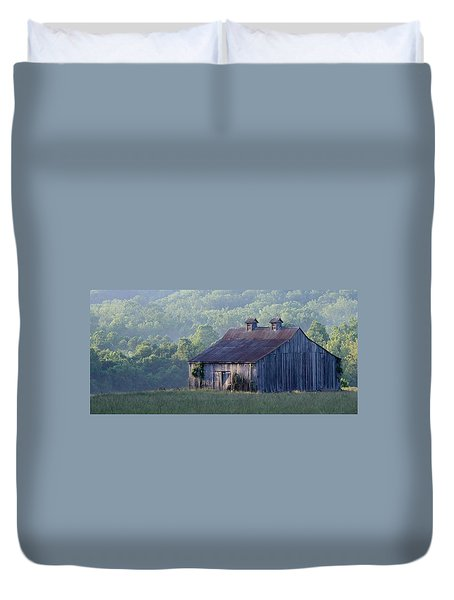 Mountain Cabin Duvet Cover