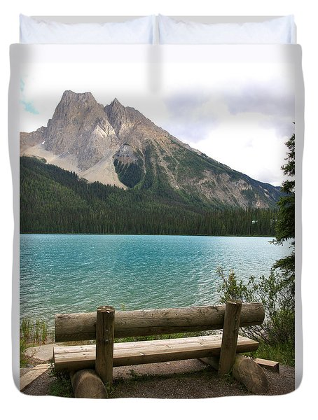 Mountain Calm Duvet Cover
