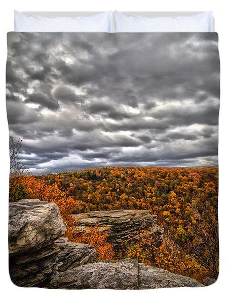 Mountain Colors Duvet Cover