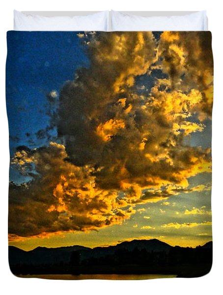 Mountain Colour Duvet Cover