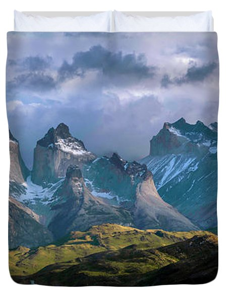 Mountain Dream Duvet Cover by Andrew Matwijec