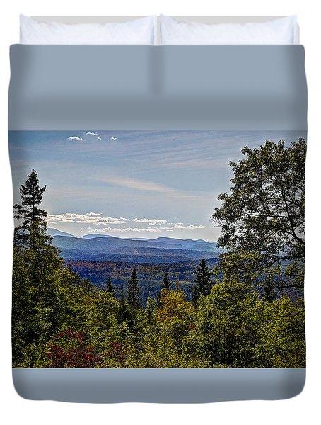 Mountain Edge Duvet Cover
