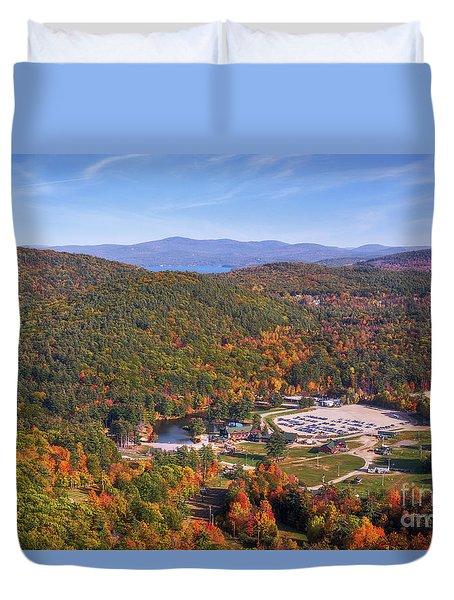 Mountain Foliage II Duvet Cover