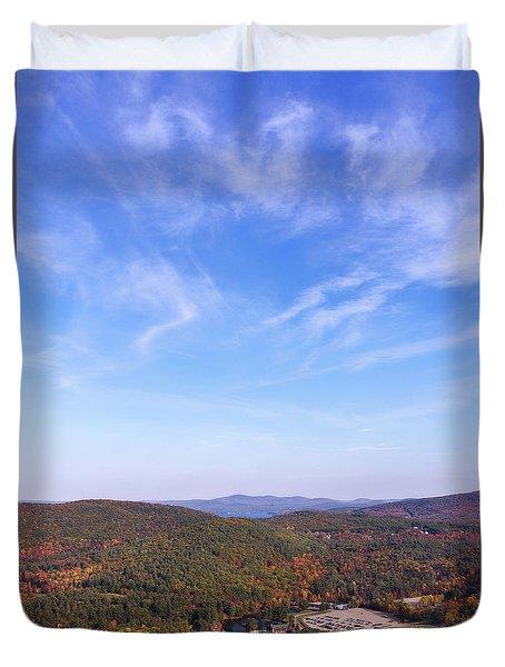 Mountain Foliage Duvet Cover