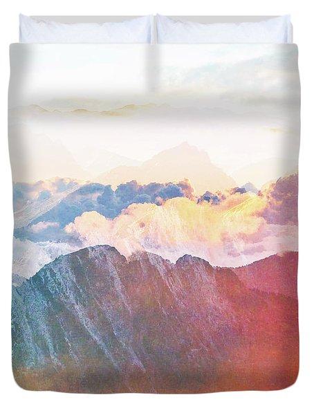 Mountain Glory Duvet Cover