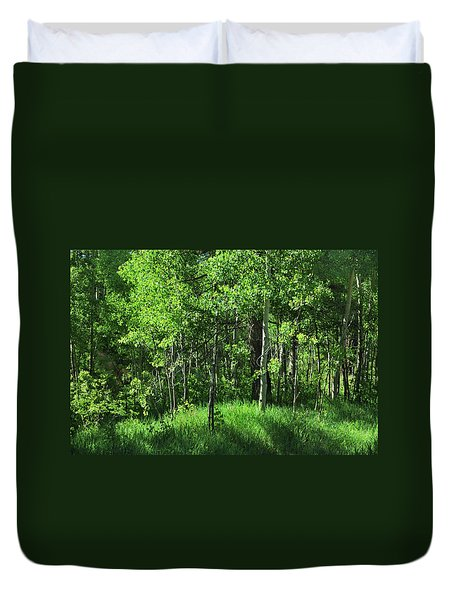 Mountain Greenery Duvet Cover