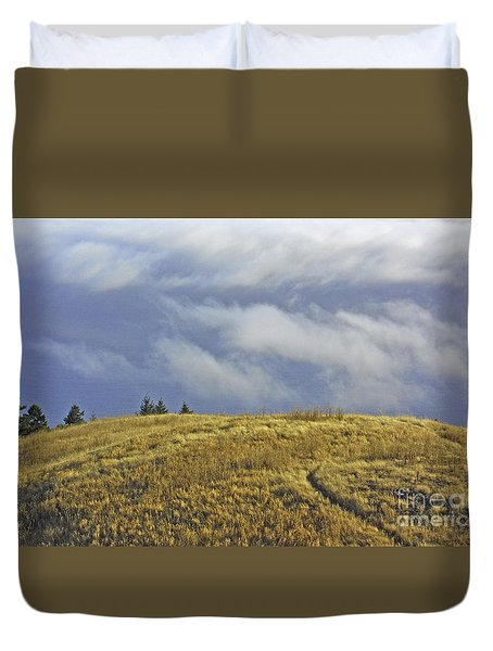Mountain High Duvet Cover