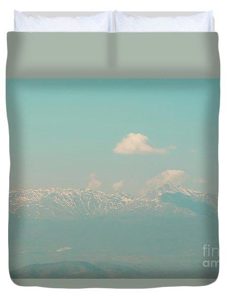 Mountain Duvet Cover