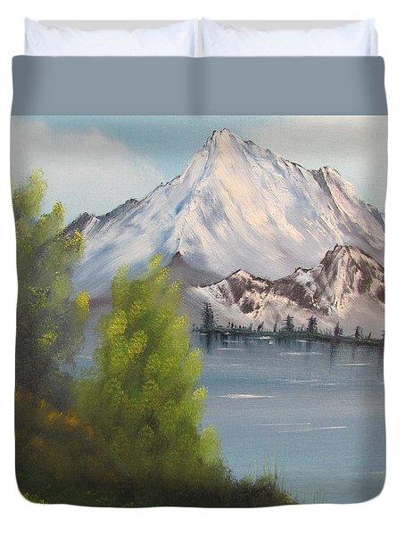 Mountain Lake Duvet Cover
