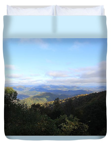 Mountain Landscape 1 Duvet Cover