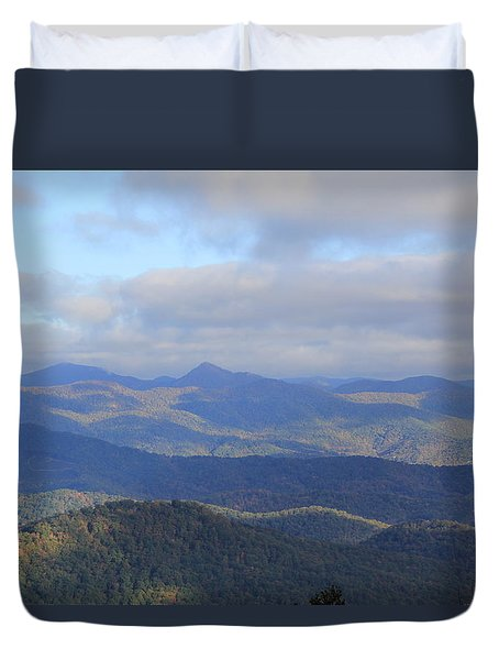 Mountain Landscape 3 Duvet Cover