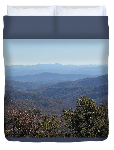 Mountain Landscape 4 Duvet Cover