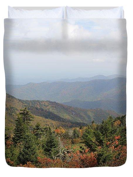 Mountain Long View Duvet Cover