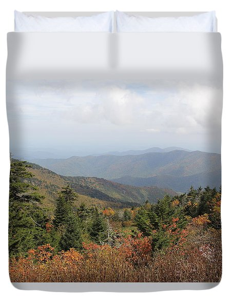 Mountain Long View Duvet Cover
