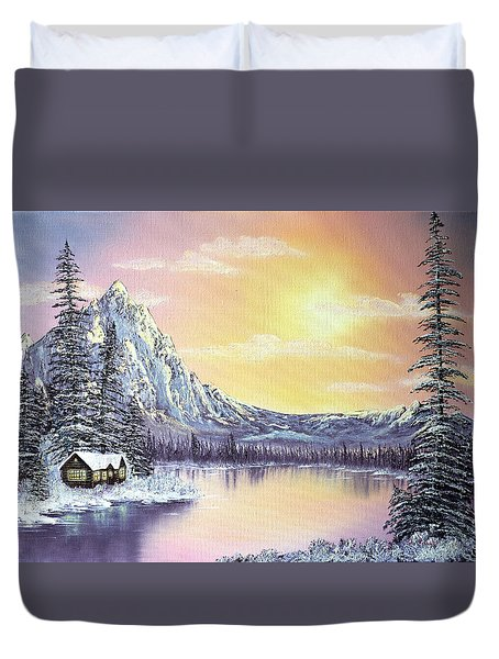 Mountain Majesty Duvet Cover