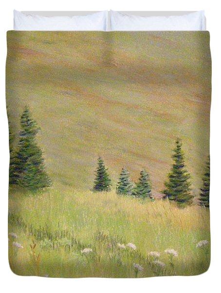 Mountain Meadow Duvet Cover