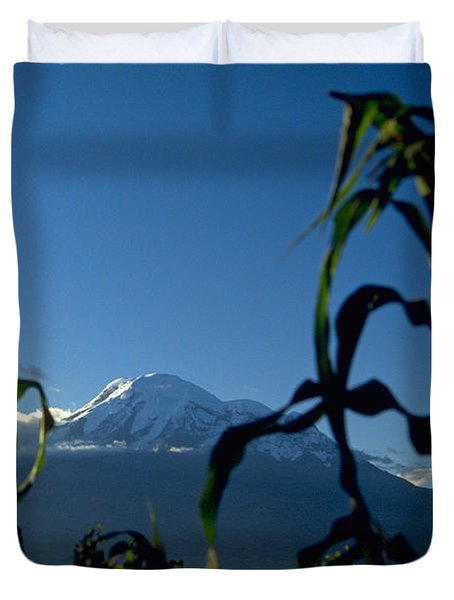 Mountain Duvet Cover by Michael Mogensen