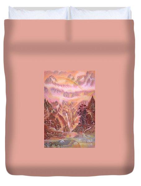 Mountain Mist Duvet Cover