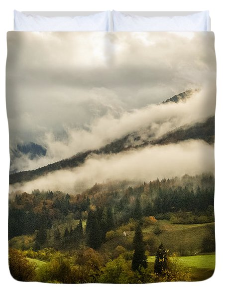 Mountain Mist Duvet Cover