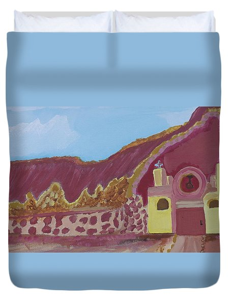Mountain Mission Duvet Cover