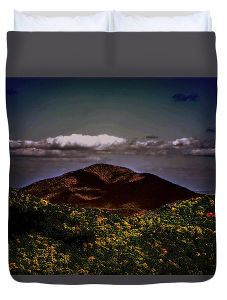 Mountain Of Love Duvet Cover by B Wayne Mullins