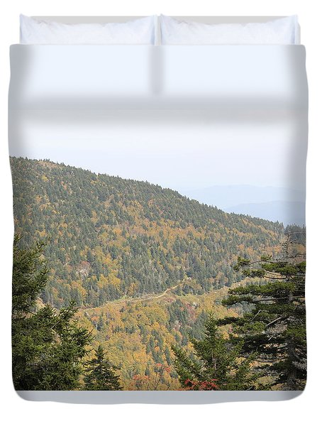 Mountain Passage Duvet Cover