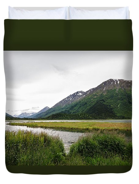Mountain Peak Dreams Duvet Cover