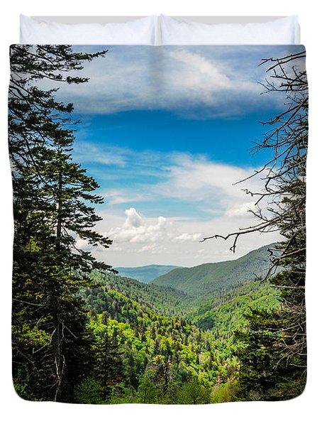 Mountain Pines Duvet Cover