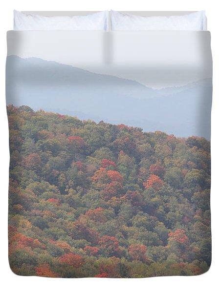 Mountain Range Duvet Cover