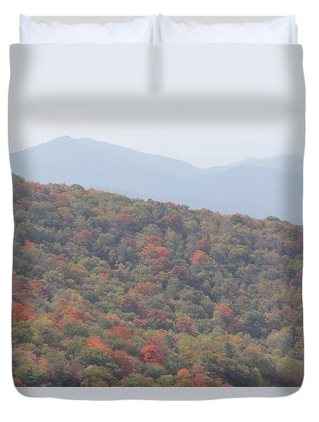 Mountain Range Duvet Cover