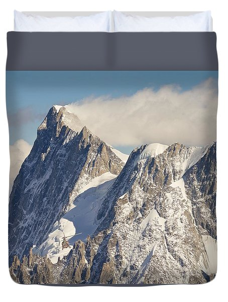 Mountain Rescue Duvet Cover