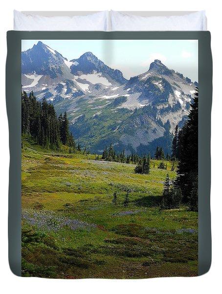 Mountain Retreat Duvet Cover