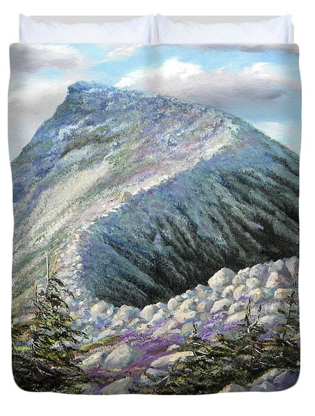 Mountain Ridge Duvet Cover
