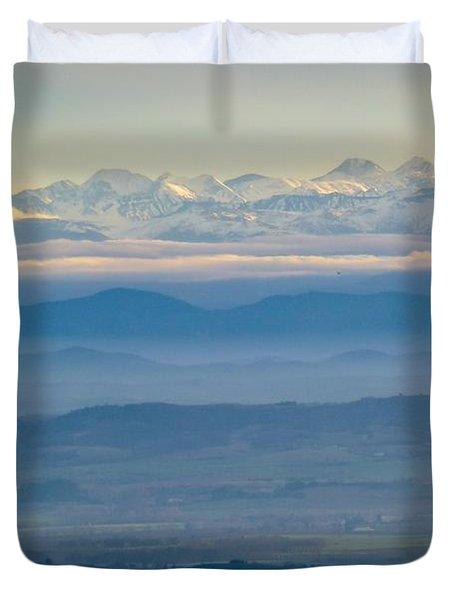 Mountain Scenery 11 Duvet Cover