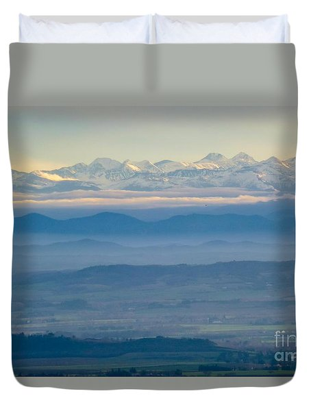 Mountain Scenery 11 Duvet Cover