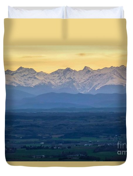 Mountain Scenery 15 Duvet Cover