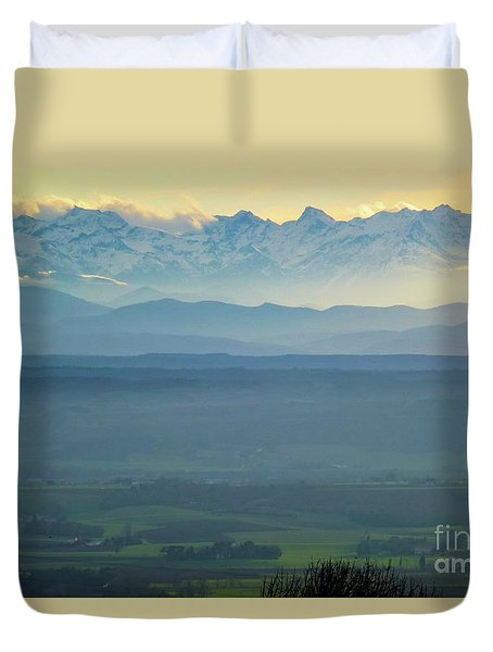 Mountain Scenery 18 Duvet Cover