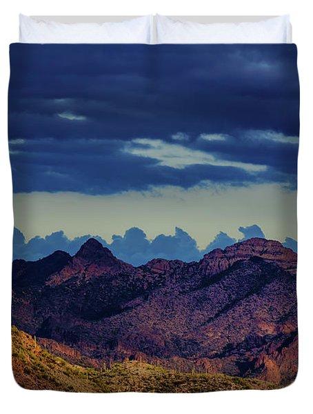 Mountain Shadow Duvet Cover