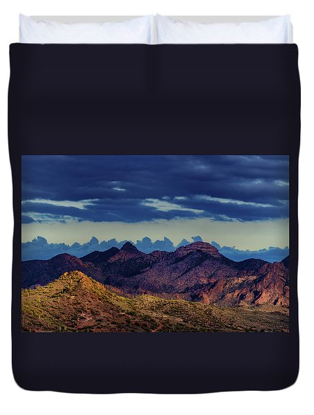 Mountain Shadow Duvet Cover