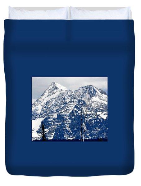 Mountain Snow Duvet Cover