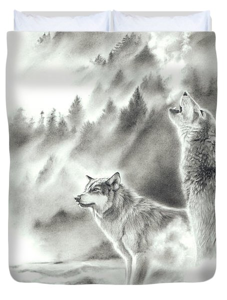 Mountain Spirits Duvet Cover