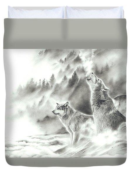 Mountain Spirits Duvet Cover