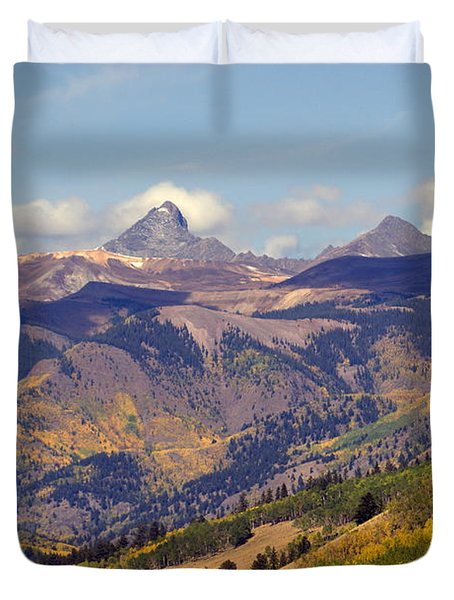 Mountain Splendor 2 Duvet Cover by Marty Koch