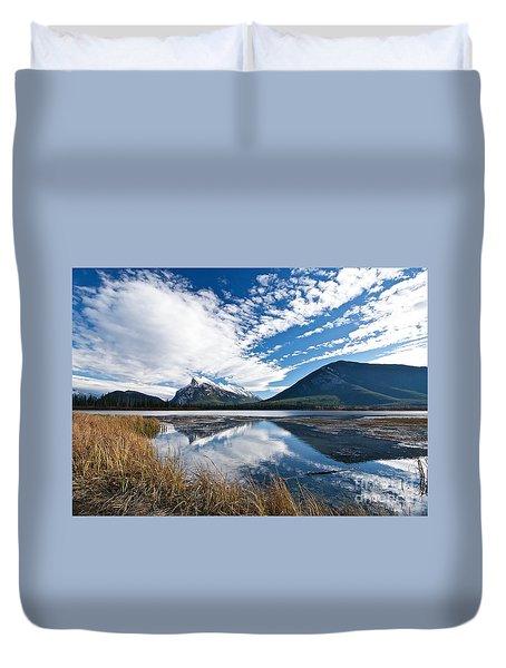 Mountain Splendor Duvet Cover